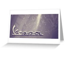 Rome XII. Vespa.  Greeting Card