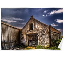 Old Barn Poster