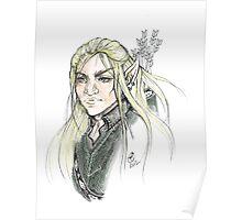 LOTR Portrait - Legolas Poster