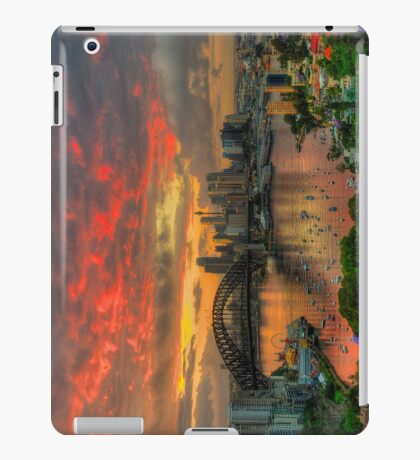 Oh What a Beautiful Morning - Moods Of A City,Sydney Australia - The HDR Experience (IPAD CASE) iPad Case/Skin