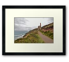 St Agnes Mine Framed Print