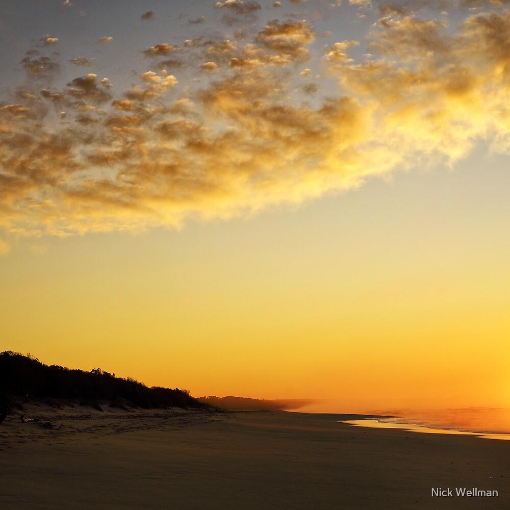 cape conran sunrise by wellman