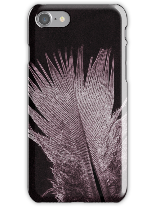 Feather Glow iPhone / iPod Case by Astrid Ewing Photography