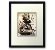 Urban Warfare Framed Print