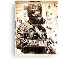 Urban Warfare Canvas Print