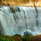 Glasgow Waterfall by Lynn Bolt