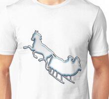 Snowy Sled Unisex T-Shirt