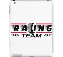 Racing Team iPad Case/Skin