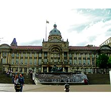 A library in Birmingham,UK at the bull ring Photographic Print
