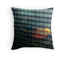 Caged Bird Throw Pillow