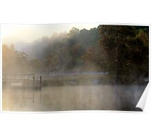 Mist In The Morning Poster