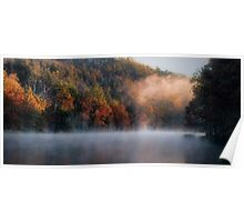 Misty Panorama Poster