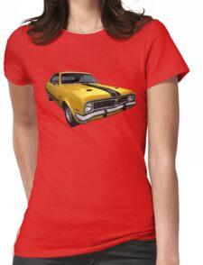 Australian Muscle Car - HT Monaro Womens Fitted T-Shirt