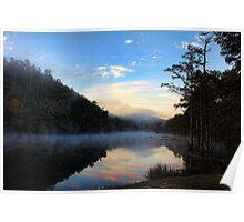 Mist At Sunrise Poster