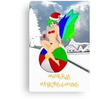 Merry Christmas from the Christmas Fairy Canvas Print