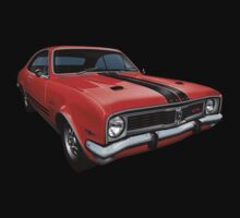 Australian Muscle Car - HT Monaro, Sebring Orange Kids Clothes