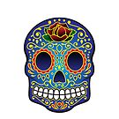 iPhone Case - Colour Skull by fenjay