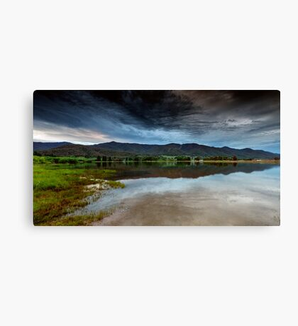 Dusk on the Lake Canvas Print