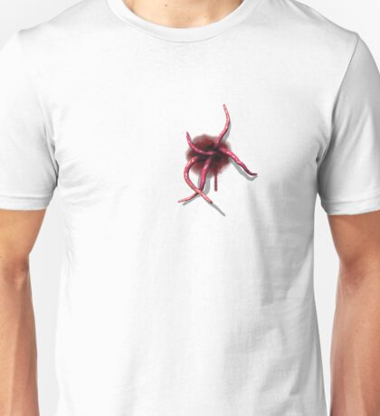 Tentacles emerging from within Unisex T-Shirt