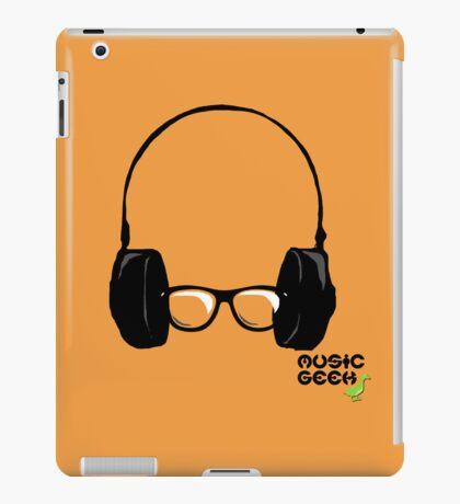 MUSIC GEEK iPad Case/Skin