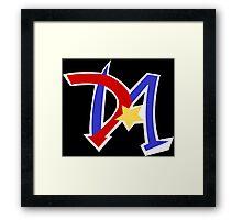 Yu-Gi-Oh GX - Duel Academy Logo Framed Print