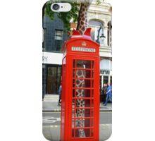 Giraffe in a Box iPhone Case/Skin
