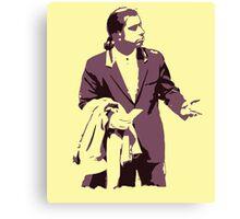 Vincent Vega 0hmm big Canvas Print
