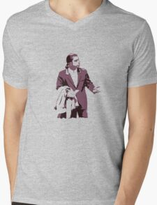 Vincent Vega 0hmm big Mens V-Neck T-Shirt
