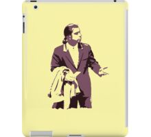 Vincent Vega 0hmm big iPad Case/Skin
