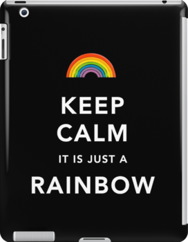 Keep Calm Is Just a Rainbow by Ommik