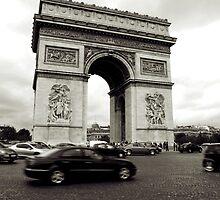Arc de Triumph  2011 by Frank Bibbins