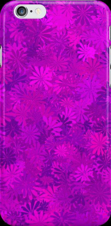 Purple Flowers by rapplatt