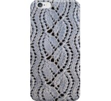 Dayflower knitted lace iPhone Case/Skin