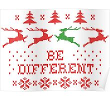 Be Different Poster