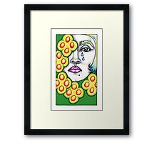 The 5 of Pentacles Framed Print