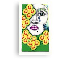 The 5 of Pentacles Canvas Print