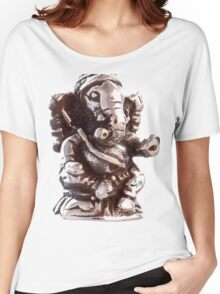 RUSTIC GANESH Women's Relaxed Fit T-Shirt