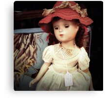 Vintage Doll for Sale Canvas Print