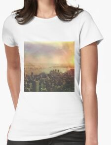 NYC 2 Womens Fitted T-Shirt