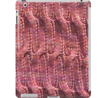 Onda Rosa knitted cables and lace iPad Case/Skin