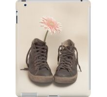 Converse and Pink Flower  iPad Case/Skin