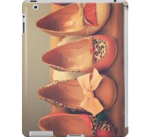 Vintage Shoes and Heels  iPad Case/Skin