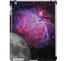 Space Galaxy Moon Mission 01 iPad Case/Skin