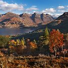 Five Sisters of Kintail, from Mam Ratagan. North West Scotland. by PhotosEcosse