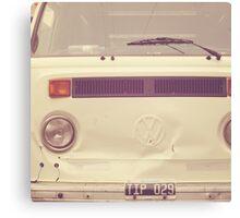VW Bus Combi Volkswagen  Canvas Print