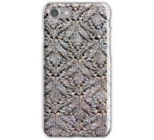 Knitted lace mackerel sky iPhone Case/Skin