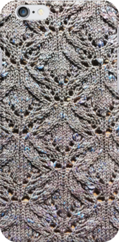 Knitted lace mackerel sky by knititude