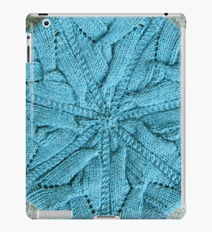 Circular knitted plaited cable   iPad Case/Skin