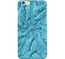 Circular knitted plaited cable   iPhone Case/Skin