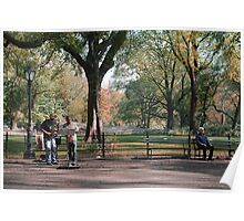 Music in Central Park Poster